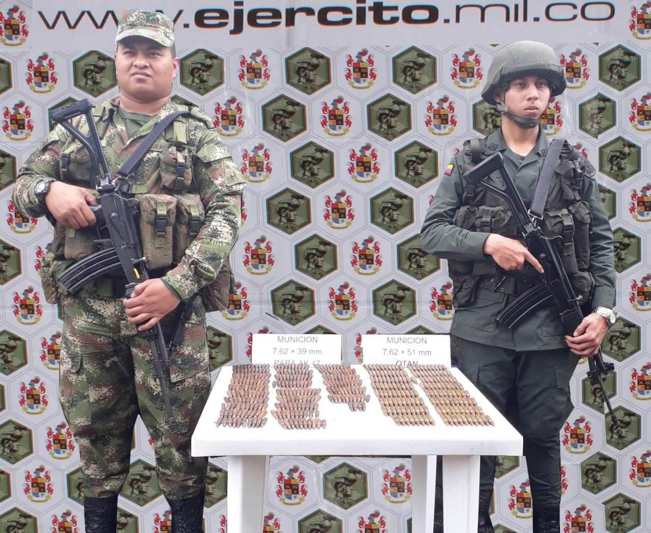 Photo of Ejército Nacional halla depósito ilegal en el municipio de Sácama-Casanare