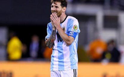 Messi renunció temporalmente a la selección Argentina
