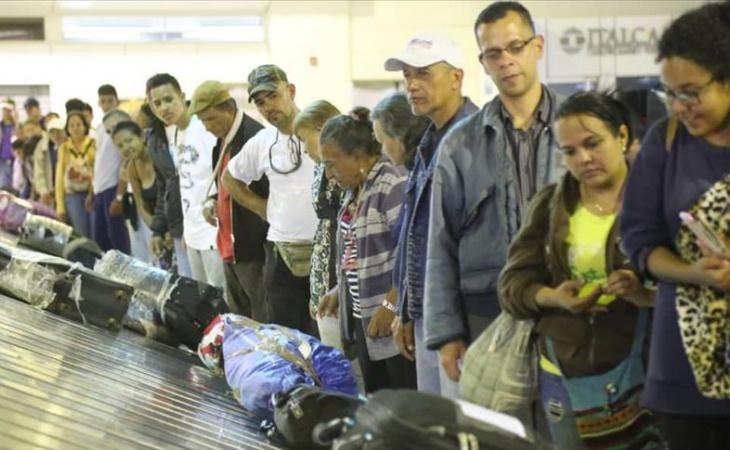 Photo of Llegan a su país 93 migrantes venezolanos provenientes de Ecuador