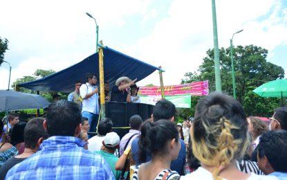 Gobernador de Casanare responde a los estudiantes sobre su gestión por la educación pública