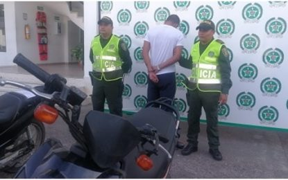 En Yopal, fueron recuperadas 4 motos robadas y un hombre fue capturado