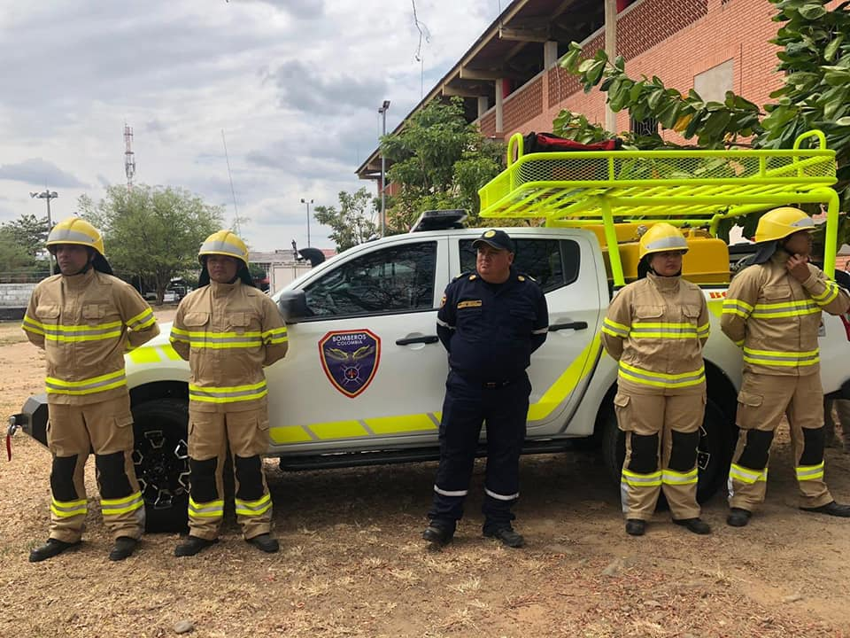 Photo of Cuerpo de Bomberos de Chámeza, recibió una máquina de intervención rápida