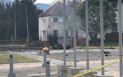 Carro Bomba en la Escuela General Santander de Bogotá deja 8 muertos y 41 heridos