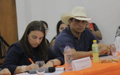 Alta Consejería para las Regiones y el Gobierno Nacional se reunió con el Gobernador y Alcaldes de Casanare