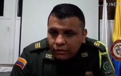 Policía de Tránsito continúa controlando el paso en el Puente La Cabuya de Yopal