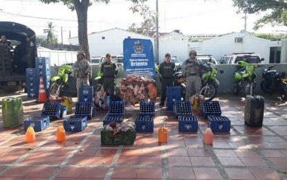 Fue incautada mercancía de contrabando avaluada en más de 15 millones de pesos en Arauca