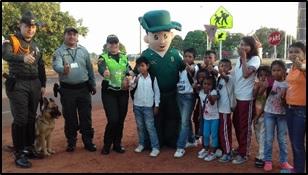 Photo of Tu policía te acompaña en el regreso a clases en Vichada