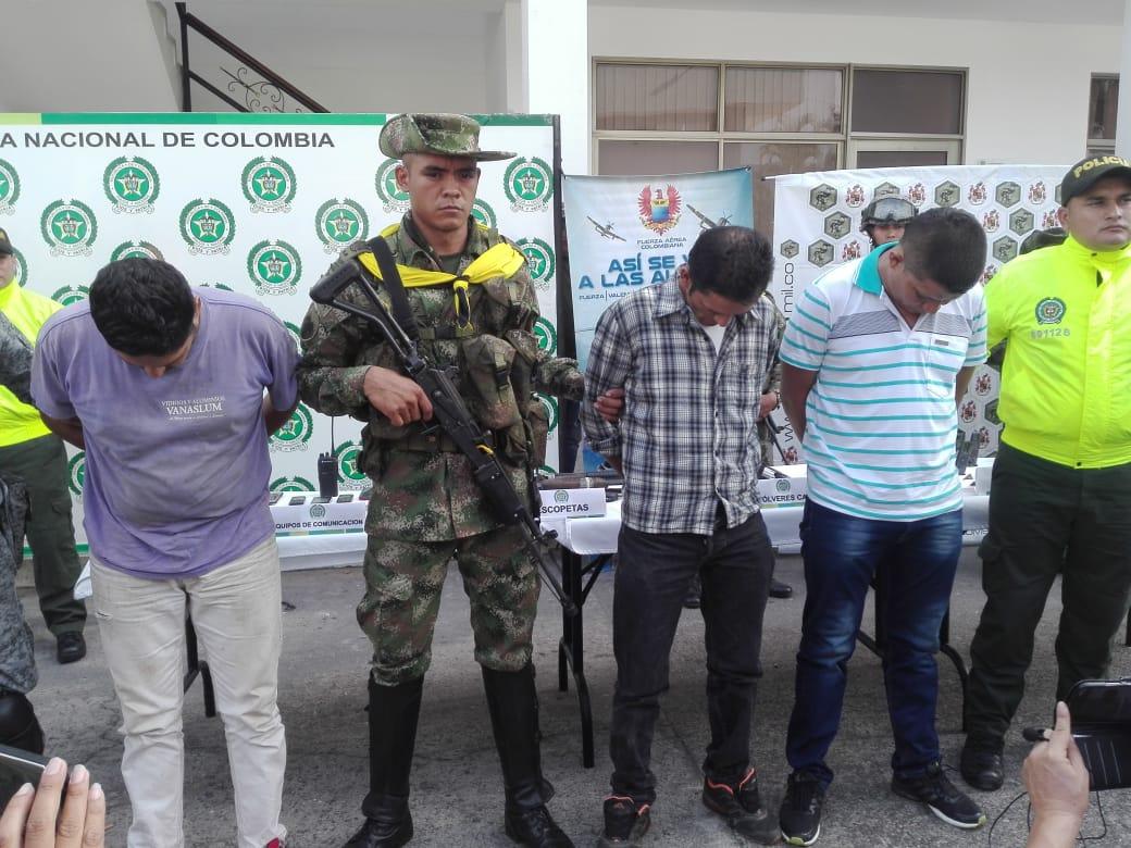 """Photo of En Maní, """"los Frontera"""" fueron capturados"""
