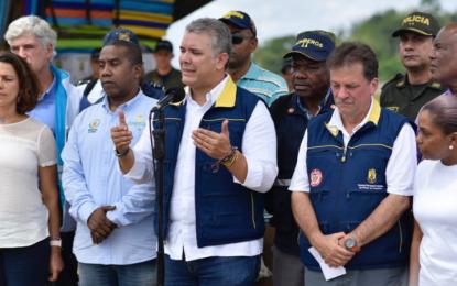 Más de 4 mil familias damnificadas dejan ríos desbordados en Chocó