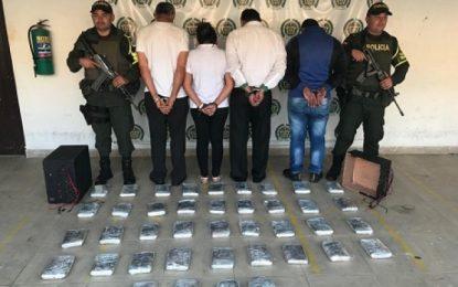 En Monterrey, capturaron a 4 personas por el delito de trafico de estupefacientes