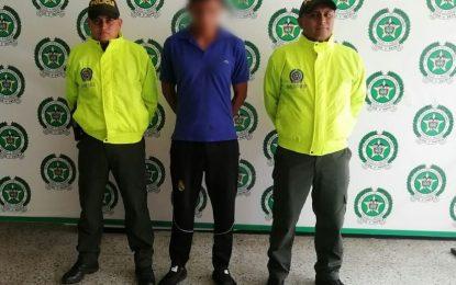 Sijin Casanare, capturó a ladrón con amplio prontuario