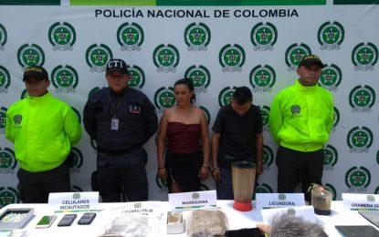 Usaban una menor de edad para vender estupefacientes, en Villanueva