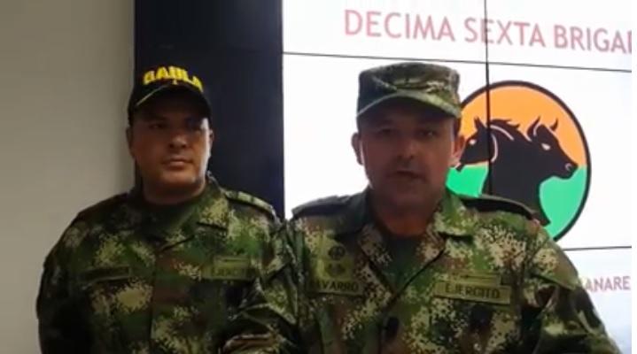 Photo of Gaula Militar da fuerte golpe al delito de extorsión en Casanare y el Meta