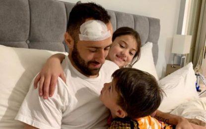 Ospina sale del hospital tras desplomarse en partido del Nápoles