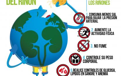 """14 Día Mundial del Riñón: """"Salud Renal para Todos en Todos Lados"""""""