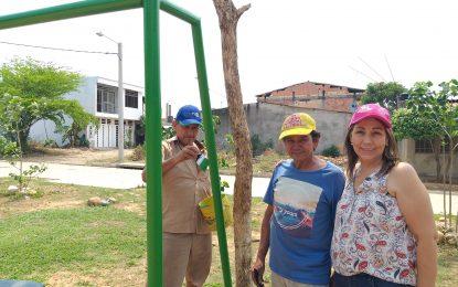 Realizaron jornada de aseo y pintura con la participación de algunos líderes del barrio Villa Nariño, en Yopal