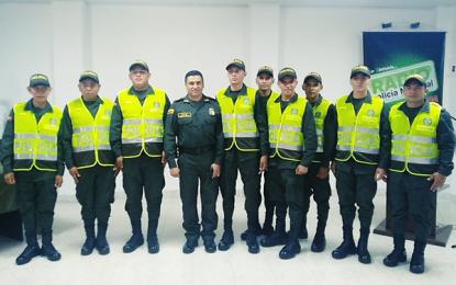 Nueve jóvenes se graduaron como auxiliares de Policía en el Vichada