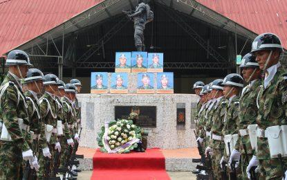 En Casanare, Ejército y comunidades conmemoraron el día nacional de la memoria y la solidaridad con las víctimas.