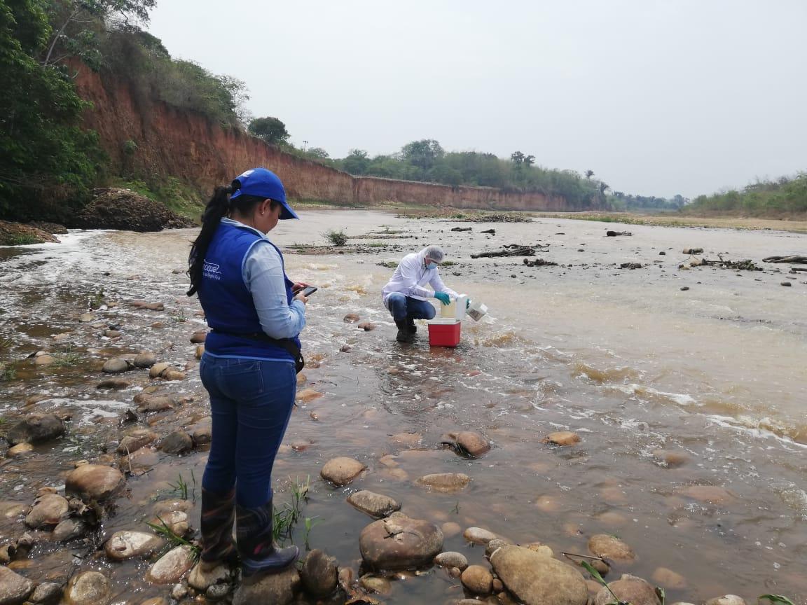 """Photo of La empresa Acueducto, Alcantarillado y Aseo de Yopal dijo :  """"Tratamiento de aguas residuales no ocasiona muerte de peces en el río Charte"""""""