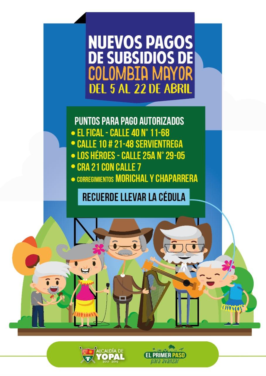 Photo of Confirmadas fechas para subsidios de Colombia Mayor. También se harán pagos pendientes