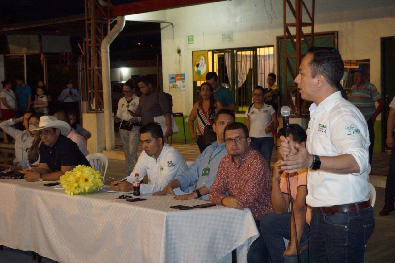 Photo of Acuerdos con habitantes de Las Américas y sus alrededores, hicieron Alcalde de Yopal y Gobernador