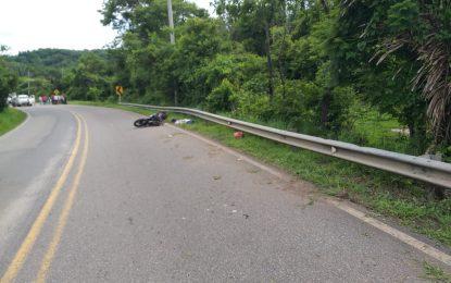 En la vía Yopal – Paz de Ariporo, en Accidente de tránsito falleció jóven de 18 años