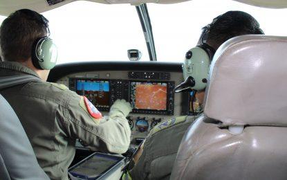 En 930 horas de vuelo el Grupo Aéreo del Casanare
