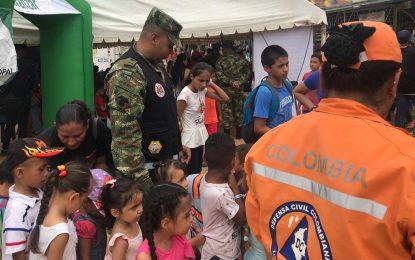 En Yopal, Jornada de apoyo al desarrollo liderada por el Ejército, benefició a 2.200 personas