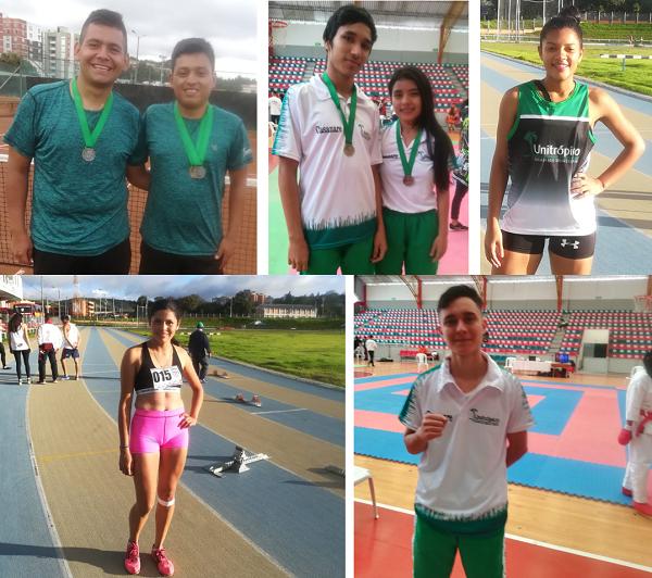 Photo of Deportistas de Unitrópico llegaron al pódium con 8 medallas en los juegos regionales