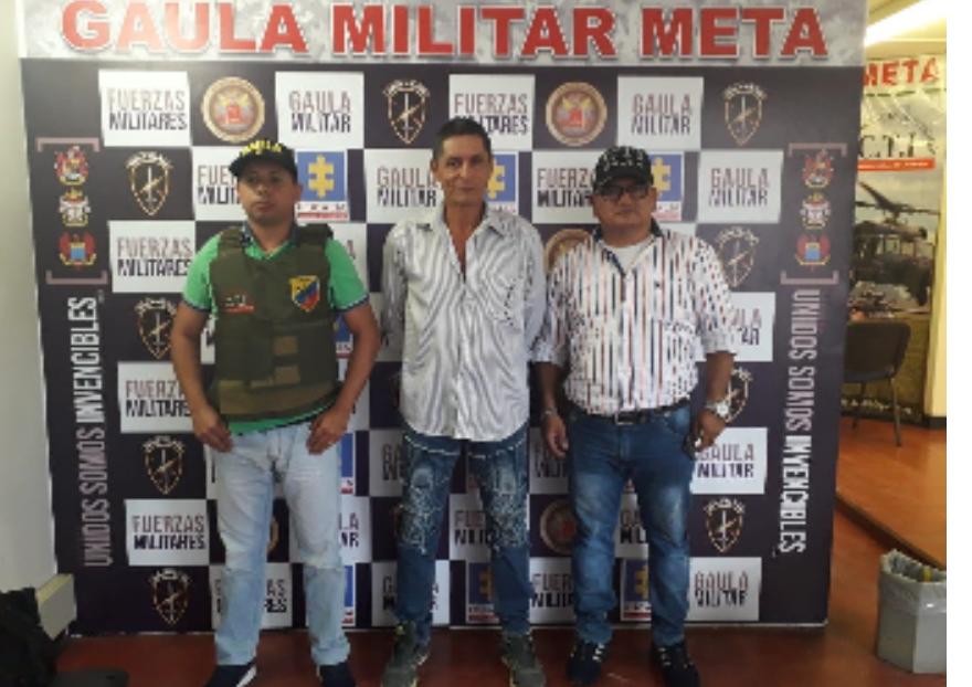 """Photo of En el Meta, fue capturado exintegrante de los""""Garbanzos"""" para cumplir condena por el delito de extorsión"""