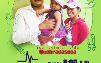 Brigada de salud, belleza y recreación este domingo en el corregimiento Quebradaseca