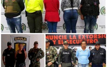 Fueron capturados 4 personas señaladas extorsionar a comerciantes y ganaderos de Casanare