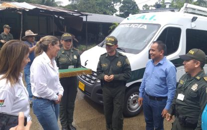 En el Morro, Policía Nacional recibió un CAI móvil