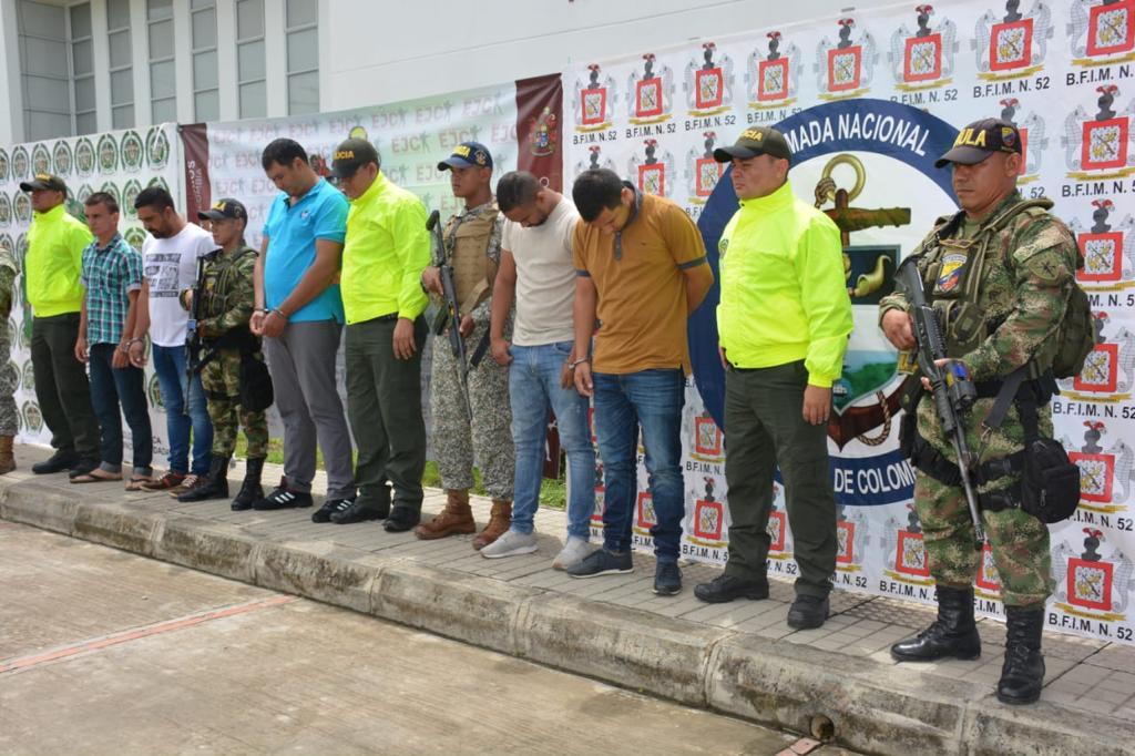 Photo of Fueron capturados 5 presuntos integrantes del GAO residual estructura primera en Arauquita, Arauca