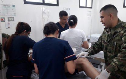 Ejército Nacional salvó la vida a un guerrillero herido durante combates en Saravena, Arauca