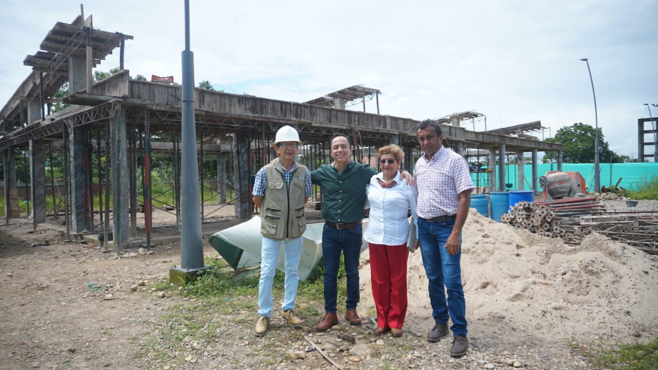Photo of En Llano Lindo, construyen aulas escolares para ampliar cobertura educativa