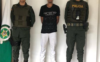 Santa Rosalía, Vichada dos sujetos fueron capturados por violencia y lesiones personales