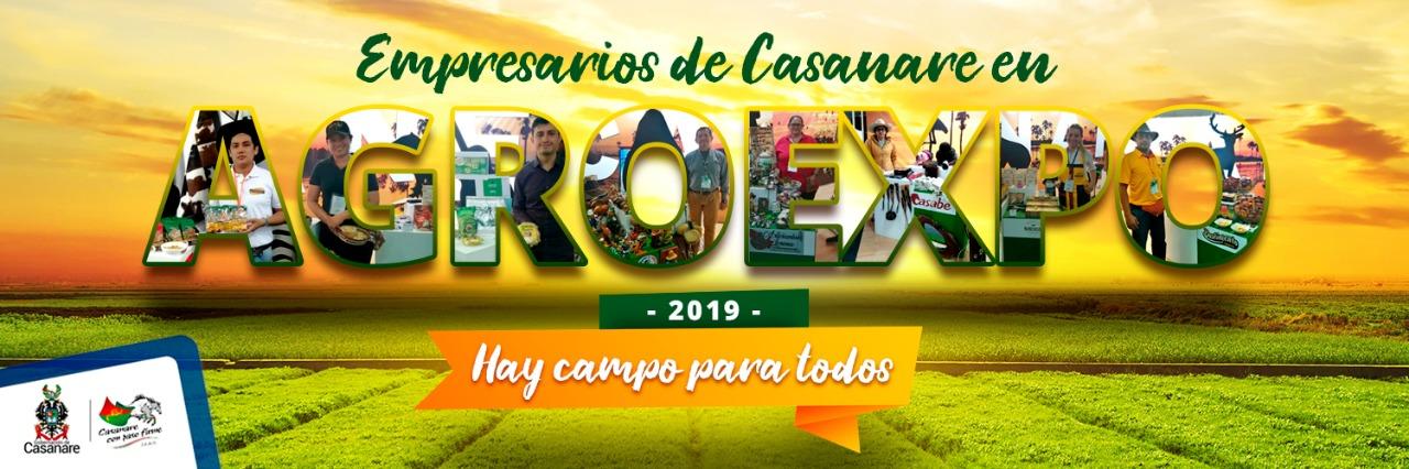 Photo of Casanare está haciendo historia en Agroexpo 2019