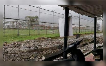 Colapsa muro en la cárcel de Villavicencio