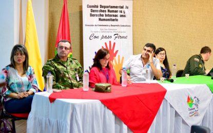Se realizará el segundo Comité Departamental de DD.HH