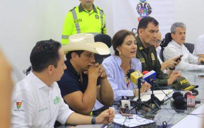 Gobierno Nacional verifica estado de segunda vía alterna al llano Transversal del Cusiana