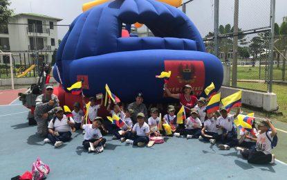 El colegio Braulio Gómez de Yopal se sintió 'Más Colombiano que nunca´