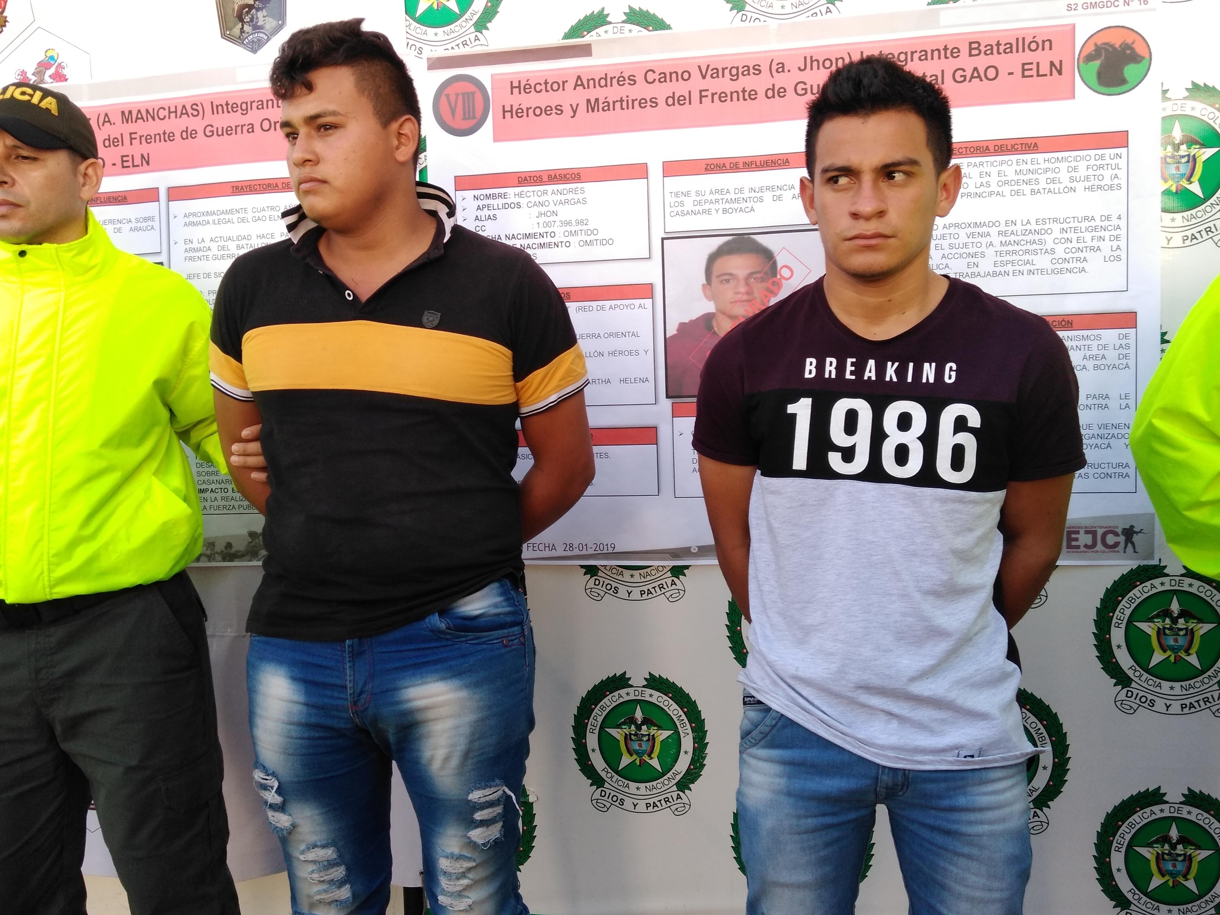 Photo of Capturados presuntos sicarios del Frente de Guerra Oriental del Eln