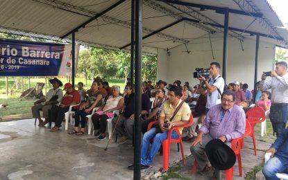 Inició el mejoramiento de pavimentación de la vía El Guineo – Guáimaro en Aguazul