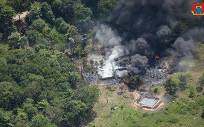Emergencia ambiental en Arauca es atendida por la Fuerza Aérea