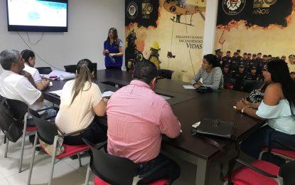 Visita técnica de la Superintendencia de Servicios Públicos a Recicladores formalizados de Yopal