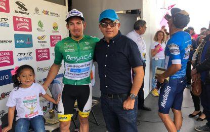 William Muñoz campeón de los Sprints en la Vuelta Colombia Casanare Bicentenario Coldeportes