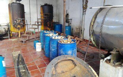 En Morichal, cerraron empresa procesadora de huesos