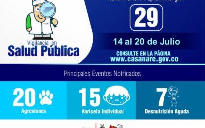 127 reportes por dengue en Casanare
