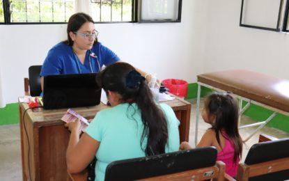Más de 300 personas del corregimiento Punto Nuevo se beneficiaron con brigada de salud